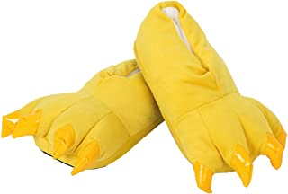 Soffte Cloud Unisex Soft Plush House Slippers Animal Costume Paw Claw Shoes