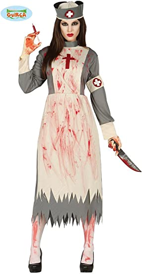 Adulti Da Donna Zombie CHIRURGO Lady Costume Halloween
