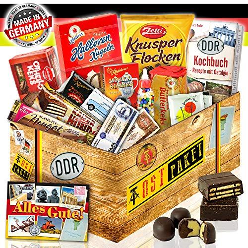 Geschenkbox Ostdeutsche Süßigkeiten - Geschenkeset zum Geburtstag für Sie