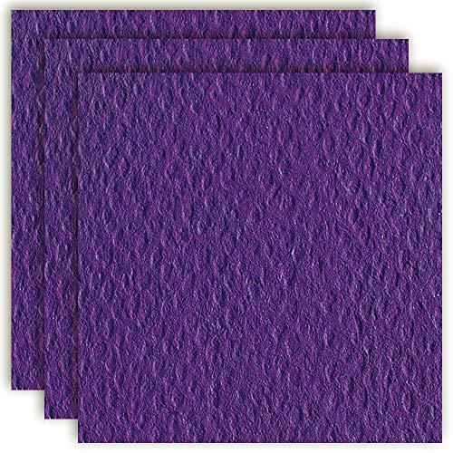 MarpaJansen 310.750-39 Fotokarton einseitig genarbt - (50 x 70 cm, 10 Bogen, 220 g/m²) - zum Basteln & Gestalten - violett, Mehrfarbig, One Size