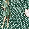 GOKEI 生地 布 棉 100% ガーゼ生地 レース生地 刺しゅう 柔らかい オフホワイト 刺繍 手作りガーゼ 大人服・子供服向けレース生地 DIY 手芸 手作り 縫製用 お洋服 小物づくり