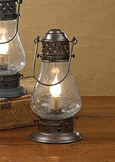 Tall Rustic Copper Onion Lamp 9-1/2