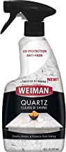 Weiman Quartz Countertop Cleaner and Polish - Clean & Shine Your Quartz Countertops Islands and Stone Surfaces with UV Protection