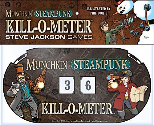 Steve Jackson Games SJG05554 - Kartenspiele, Munchkin Steampunk Kill-O-Meter