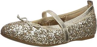 حذاء للبنات Nina esther-t ، Platino Chunky Glitter ، 12 Medium US طفل صغير
