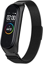 INJOY Milan Magnetic Stainless Steel Watch Band Strap for Xiaomi Mi Band 4 Bracelet