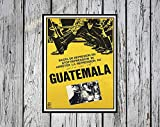 AZSTEEL Reprint of The Political Poster Guatemala | Poster