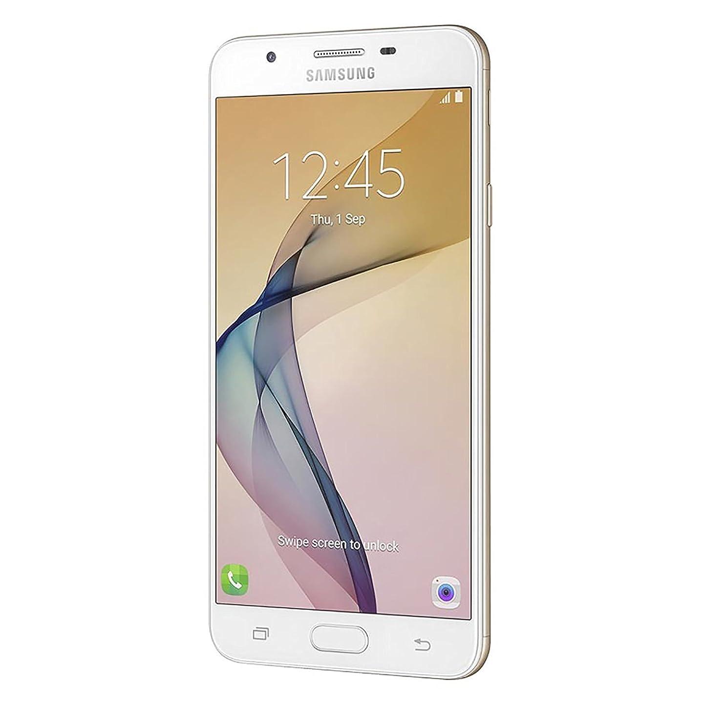 Samsung Galaxy J7 Prime (16GB) G610M/DS Dual SIM Unlocked w/Finger Print Scanner (Latin & US 4G LTE) (White Gold)