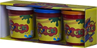 Wow Play Dough Set, 3 Buckets - 125 gm