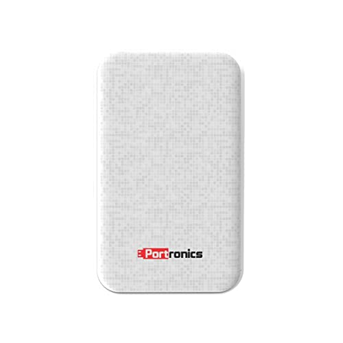 Portronics Power Slice 7 POR-007 7000mAH Lithium Polymer Power Bank (White)