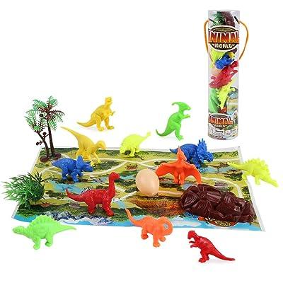 Baobë Mini Dinosaur Toy Set 17 Piece Including...
