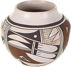 Hopi Polychrome Navasie Pottery Bowl by Joy Navasie Frog Woman 0024