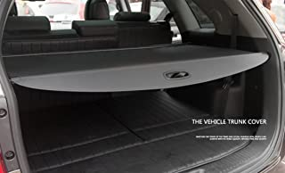 Vesul Black Updated Tonneau Cover Retractable Rear Trunk Cargo Luggage Security Shade Fits on Kia Sorento 2016 2017 2018 2019(with Extra Canvas Cover)