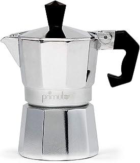 Primula Maker-Aluminium-for Bold، Espresso Full Body - آسان برای استفاده - 1 جام ایجاد می کند