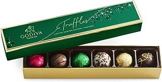 GODIVA Chocolatier Limited-Edition Holiday Truffle Assorted Gift Chocolate, 4.1 Ounce
