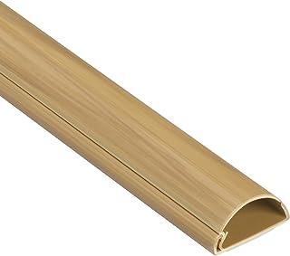 D-Line 1M3015O Canaletas De Plástico, Efecto Robel, 1 metro