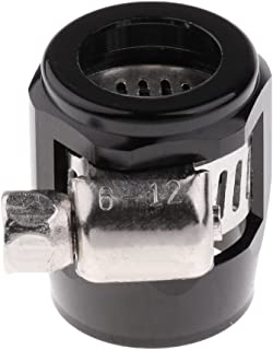 Fydun Schlauch Finisher Auto/öl Kraftstoffschlauch Endklemmen Finisher Wasserleitungsclip Schlauchverbinder Fitting Heiz/öl Wasserleitung Clip Clamp 12mm-Rot