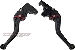Short Brake and Clutch Levers for Yamaha FZ-07 FZ07 MT07 FZ09 MT09 2014-2019,FZ8 2011-2015,FZ-10 16-19,FJ-09 15-19,XSR700/900 ABS 16-19,FZ6 FAZER 04-10,FZ6R 09-17,FZ1 FAZER 06-15,XJ6 DIVERSION 09-15