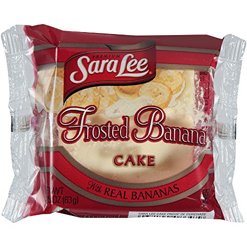 Sara Lee Iced Banana Cake, 2.25 Ounce -- 24 per case.