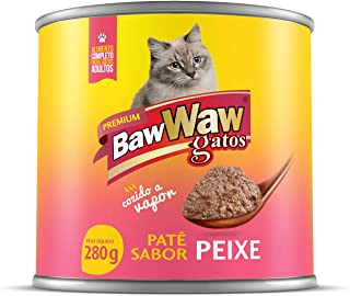 Patê Baw Waw para gatos sabor Peixe 280g
