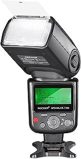 Neewer 750II TTL Flash Speedlite para Nikon D7200 D7100 D7000 D5500 D5300 D5200 D5100 D5000 D3300 D3200 D3100 D3000 D700 D600 D500 D90 D80 D70 D60 D50 y otros Nikon DSLR Cámaras