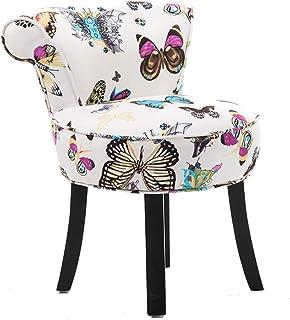 Taburete modernotaburete de tocador/taburete de maquillaje/silla con respaldo de ventiladorsilla de piano barroco con pa...