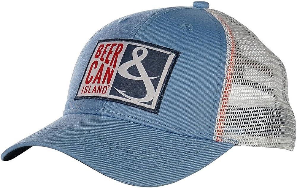 Hook & Tackle Beer Can Island Cap | Performance Fishing Trucker Hat