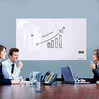 ZHIDIAN Magnetic Whiteboard Sticker, Adhesive Dry Erase Sheet 24