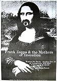 Frank Zappa Poster Mona Lisa