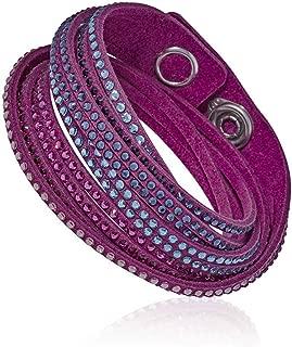 Swarovski Slake Fuchsia 2 in 1 Ladies Bracelet 5202465