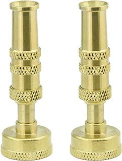 PLG Heavy Duty Adjustable Twist High Pressure Hose Nozzle Water Hose Sprayer