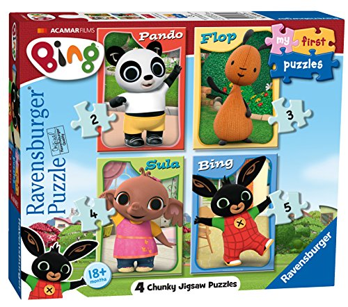 6869 My First Puzzle Bing Bunny   Puzzles de sierra de puzzle (2, 3, 4 y 5 piezas) , color/modelo surtido