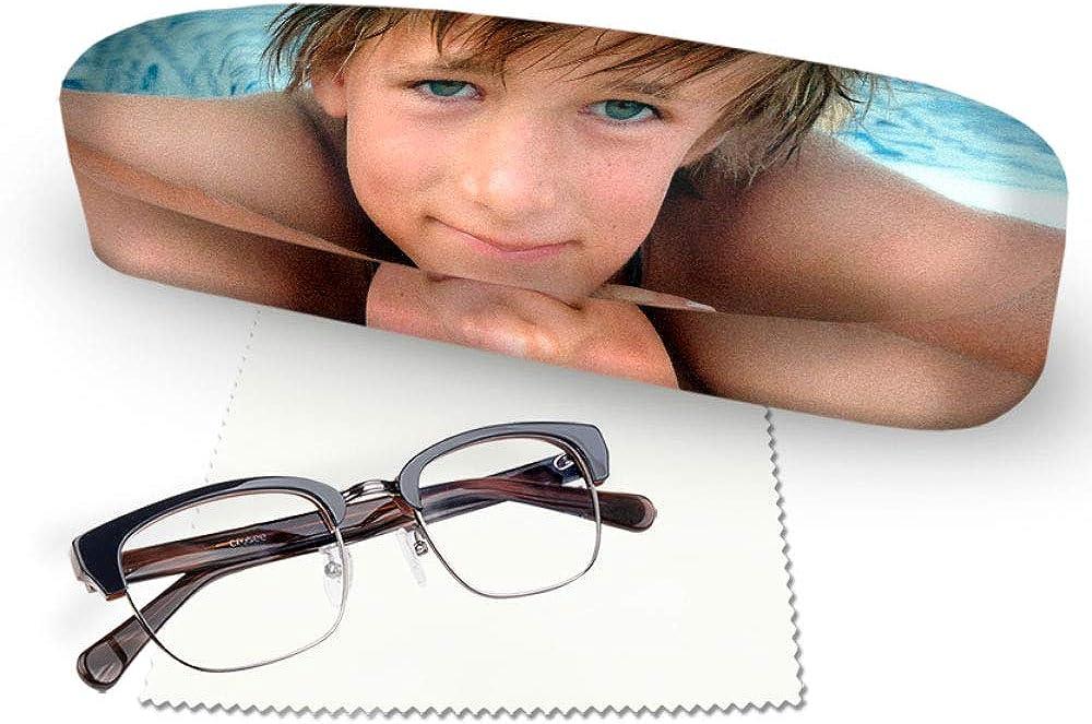 Coque rigide personnalis/ée pour lunettes de lunettes /à personnaliser avec votre design