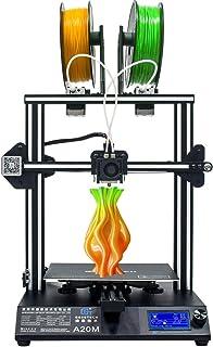 GIANTARM Geeetech A20M Stampante 3D con Mix-Color-Stampa, Base Edificio Integrata, Doppio Estrusore-Design,Filamento-Rivel...