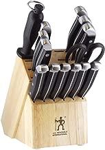 J.A. Henckels International 13550-005 Statement Knife Block Set, 15-pc, Light Brown