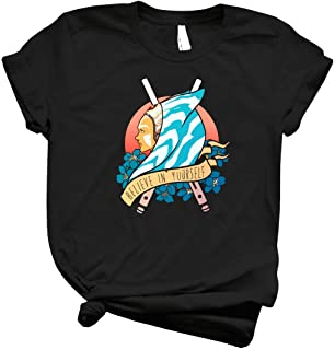 Star Wars Ahsoka Tano Believe In Yourself - Women's Funny Graphic T Shirts - Graphic Cute Shirts For Women –