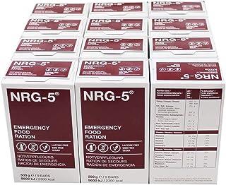12 x 500 g NRG 5 noodvoeding, elk met 9 repen