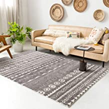 "Rugs Living Room Bedroom Bathroom Rug and Mats Sets Flannel 3D Carpet Chair Mats for Carpeted Floors (D6, 140x200,55x78.7"")"