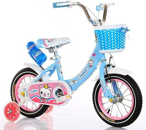 cómodamente WY-Tong WY-Tong WY-Tong Bicicleta Infantil Bicicletas Infantiles Coche de niña 3-7 años de Edad los Niños con la Bicicleta de Ruedas Flash  salida para la venta