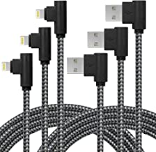 Unbreakcable Lightning Cable - 10ft/3M Ultra-Durable iPhone Charger Cord with 30000 Bend Lifespan for Apple iPhone Xs Max/XS/XR/X, 8 7 6 6S 6 Plus, iPad, iPod -Black Gray