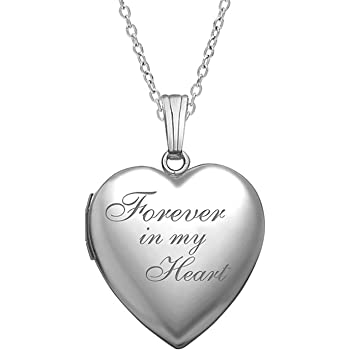 Toucan Custom Engraved You are more Loved Heart Locket Necklace