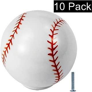 baseball drawer pulls