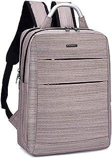 Lixada Practical Business Leisure Computer Oxford Fabric PU Backpack Male Female USB Charging Travel Schoolbag Bag