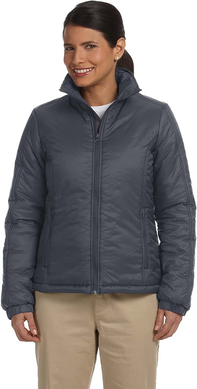 Harriton Women's Essential Polyfill Drawstring Jacket