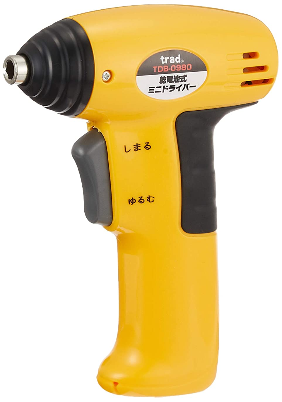 不健康骨髄過ちTRAD 820768 TDB-098O 電気式ミニドライバー オレンジ