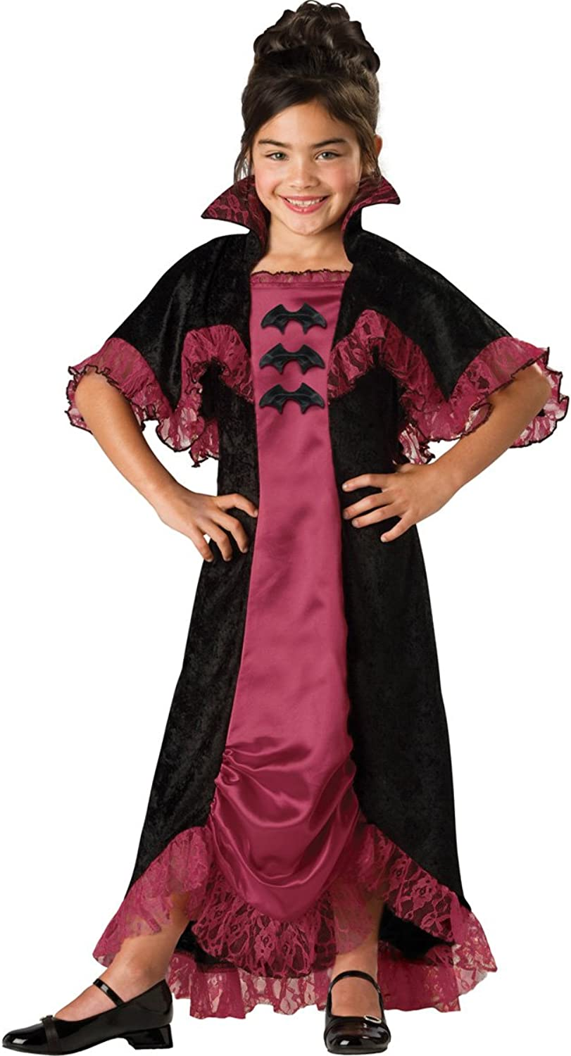 InCharacter Costumes Midnight Vampiress Costume, One Farbe, Größe 12 by InCharacter