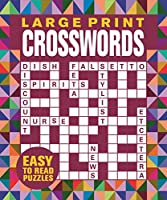 Large Print Crosswords (Jumbo flexi puzzles)