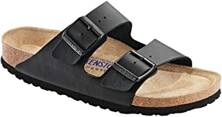 Women's Arizona Birko-Flo Black Birko-flor Sandals - 35 N EU (US Women EU's 4-4.5)