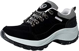 Hiking Shoes for Women Outdoor Non-Slip Shoes Walking Running Shoes Leisure Breathable Sneakers