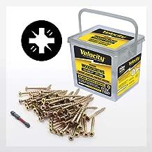 Wood Screw - Velocity Interior - Contractor Pack - Stick-Tight Wood Screw #10 x 2